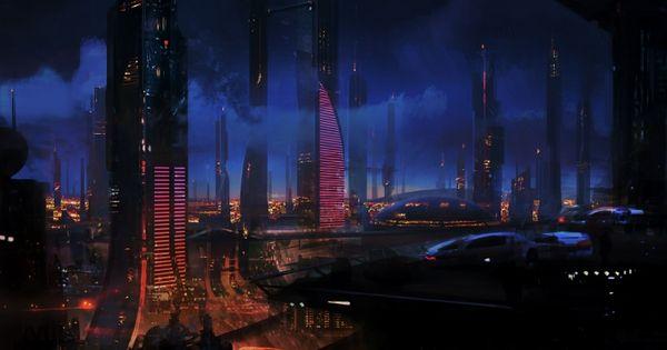 wallpaper science fiction