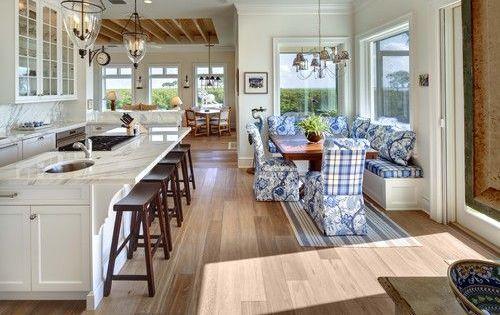 Decoraci n de casas con sala y comedor juntos cocinas for Decoracion espacios abiertos