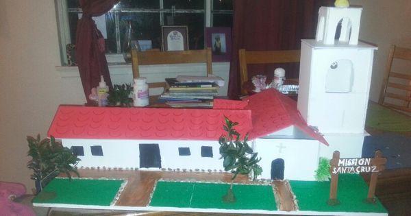 Mission Santa Cruz project | FOR THE KIDS | Pinterest ...