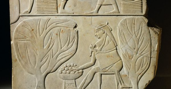 Relieve mural de la tumba de montuemhat tercer per odo for Mural egipcio