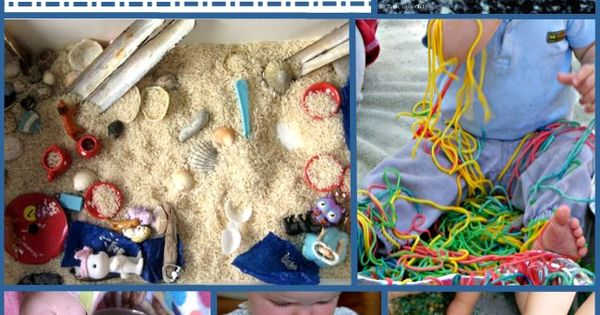 11 of the Very Best Sensory Activities for One Year Olds by