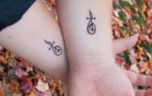 treble clef cross tattoo! might just be the first one of ...