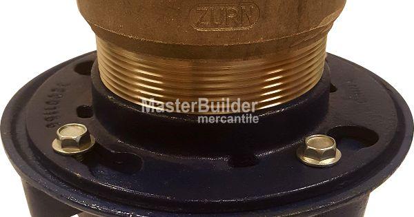 Zurn Zn415 S Floor Drain With Nickel Bronze Hub Funnel Floor Drains Flooring Bronze