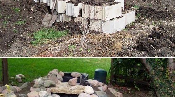 Do it yourself landscaping ideas how to build a beautiful for Garden waterfalls do it yourself