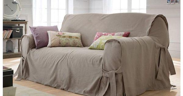 Copridivano laredoute tutto x l 39 hs pinterest copri divano divano e tappezzeria - Copripoltrona letto ...