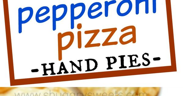 Pepperoni, Meals and Flakey pie crust on Pinterest