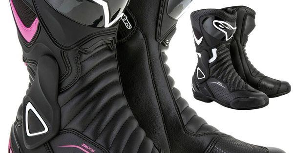 Alpinestars Stella Smx 6 V2 Vented Womens Street Riding Cruising Motorcycle Boot Women S Motorcycle Boots Bike Boots Motorcycle Boots