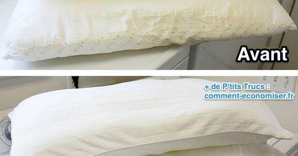 la meilleure m thode pour laver et blanchir un oreiller jauni fils voitures et comment. Black Bedroom Furniture Sets. Home Design Ideas