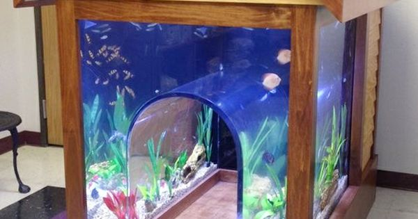Awesome Products Incredible 2 In 1 Fish Tank Dog House