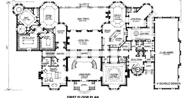New Home Floor Plans For 2013 Mansions Floor Plans Of A