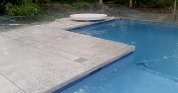 Polished Concrete Pool Deck Google Search Concrete Pool Pool Pavers Pool Deck
