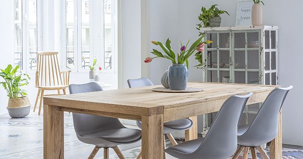 Hogares kenay un piso con un encanto especial techos for Disenos de comedores de madera