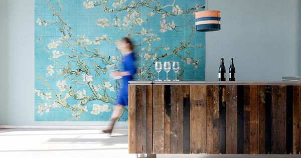 IXXI wall decoration made with Van Gogh's painting 'Almond blossom'. Van Gogh