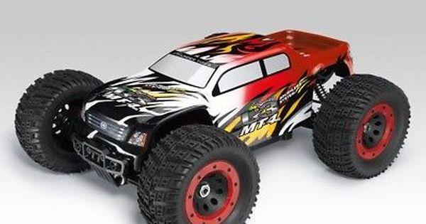 Thunder Tiger 6401 F111 Rc Car Monster Truck Mt4 G3 Brushless Red