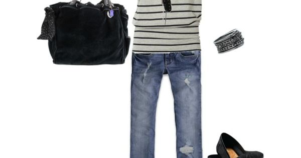 Black glitter toms! cute outfit