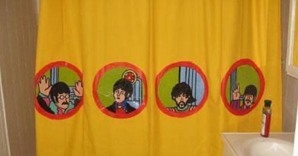 Nao Somos Apenas Rostinhos Bonitos Beatles Bathroom Cool Shower