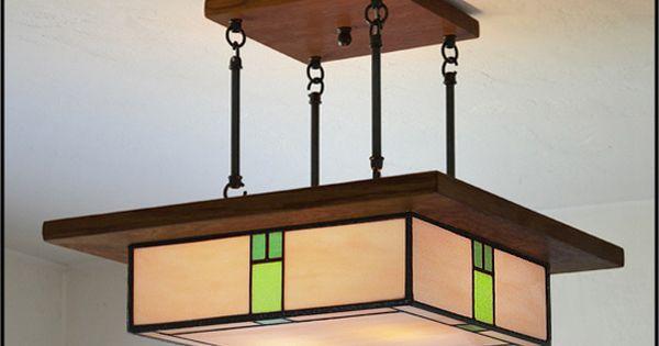 Craftsman Style Bathroom Lighting : Arts and crafts lighting fixture craftsman bungalow