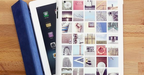 Turn you Instagram photos into a custom iPad case - Great gift