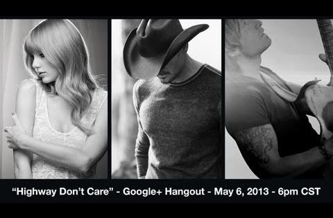 Tim Mcgraws Video Premiere Highway Dont Care With Taylor