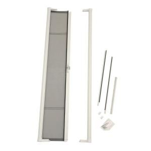 Odl 36 In X 78 In Brisa White Retractable Screen Door For Sliding Door Brslwe The Home Depot Retractable Screen Door Retractable Screen Sliding Screen Doors