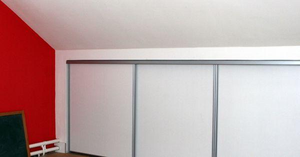 Schuifdeuren zolder google zoeken kast onder schuin dak pinterest zoeken - Amenager kast ...