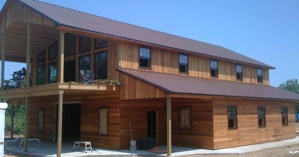 Horse barn with 2 bedroom apartment above home sweet for Barns with apartments above