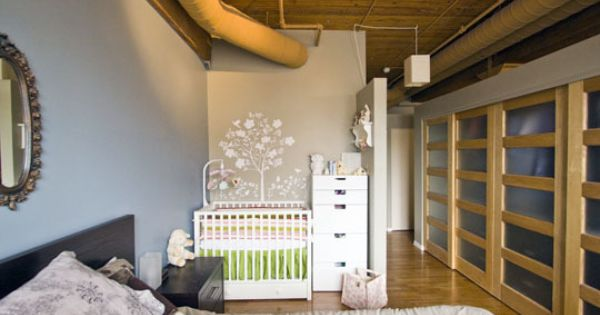 In case we did end up moving to europe and only had a small amount of space i think this would - Baby nursery ideas for small spaces style ...