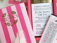 Invitacion 15 Años Victoria Secret Tarjetas De Invitación