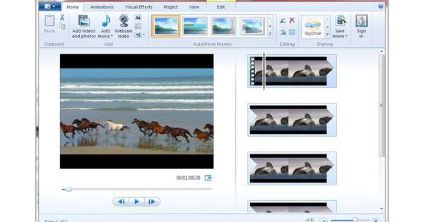 Windows Movie Maker Software Edit Video Ringan Video