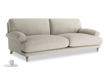 Large Slowcoach Sofa In Thatch House Fabric 258686 Loaf With Images Sofa Comfy Sofa Chaise Sofa