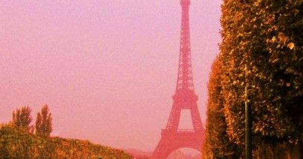Pink Paris - Eiffel Tower by Ken Harvey | Artsy Home