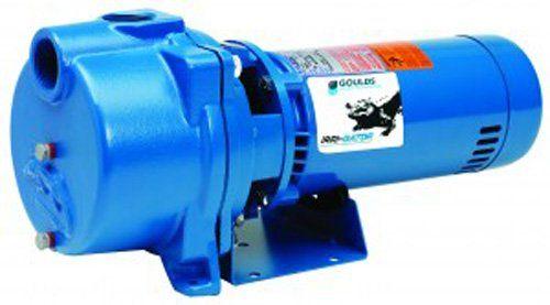 Simer 2HP Submersible In Ground Yard Sprinkler System Water Pump Used