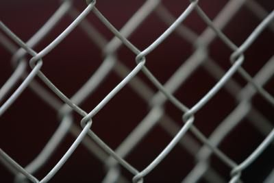 How To Paint A Chainlink Fence Chain Link Fence Painted Chain Link Fence Chain Fence