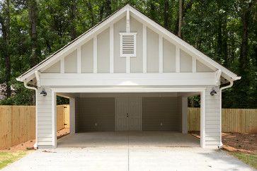 238 Forkner Traditional Garage And Shed Atlanta By Thrive Homes Llc Carport Garage Garage Door Design Carport Sheds