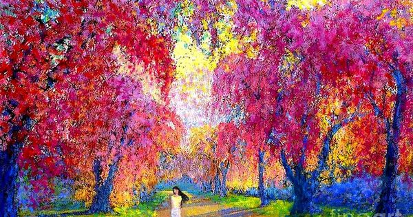 Pinturas impresionistas de paisajes faciles buscar con - Pintura para craquelar ...