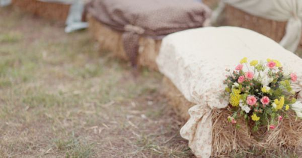 covering hay bales with fabric