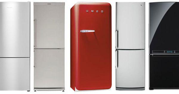 Eight Narrow, CounterDepth Refrigerators Refrigerators