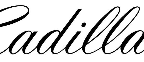 Cadillac Font/logo [classy]