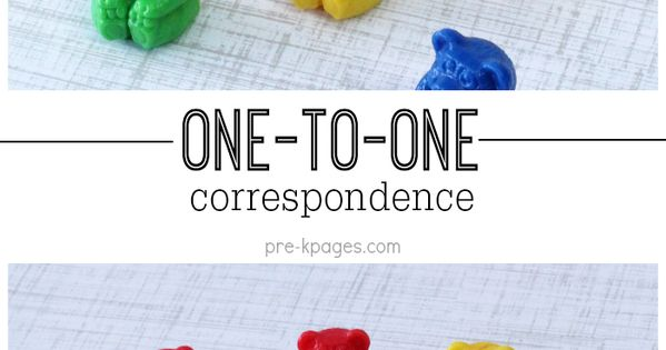 One To One Correspondence Activities Count Small Groups