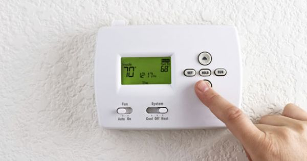 Saving Money With Winter Proofing Repairs New Thermostat Heating And Air Conditioning Home Thermostat