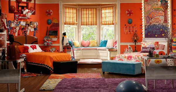 What Color Is The Orange Paint In Liv And Maddie S Room Google