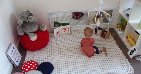 espace de jeu en motricit libre inspirations montessori chambres d 39 enfants et salles de jeux. Black Bedroom Furniture Sets. Home Design Ideas