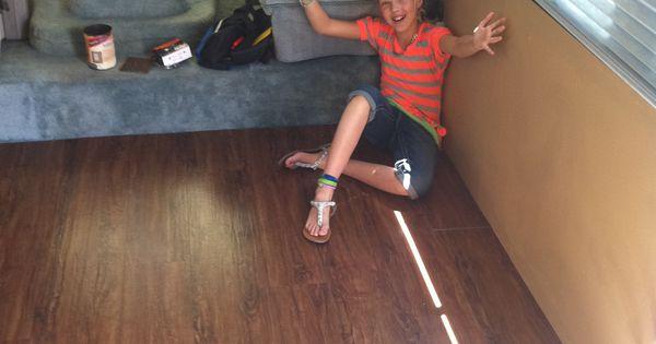 Rv remodel series flooring camper reno pinterest for 180 water street 17th floor