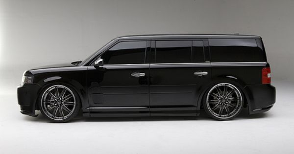 Want My Flex To Look Like This Ford Flex Custom Muscle Cars Ford Suv
