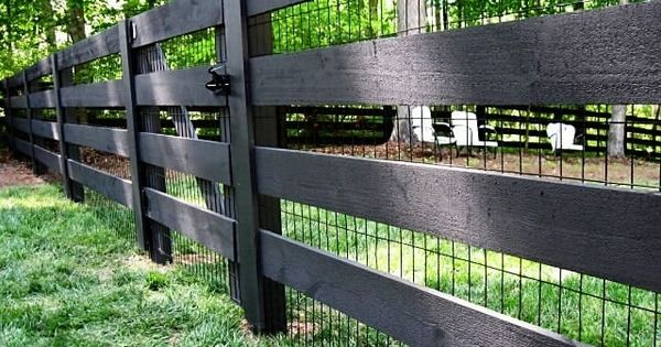 Really Beautiful Kentucky Four Board Fence Fence For