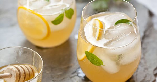 Whiskey Lemonade with Honey Simple Syrup from http://@Anastasia Samsonova Crush Heidi Larsen.