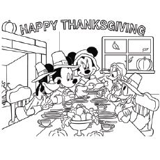 Want To Keep Your Kids Busy At The Table These Holidays Now You Can Ach Thanksgiving Coloring Book Thanksgiving Pictures To Color Mickey Mouse Coloring Pages
