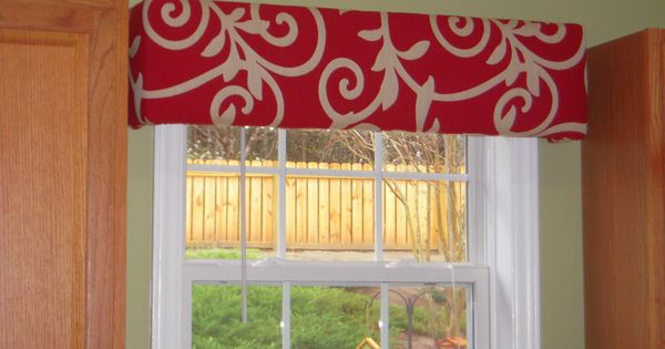 Kitchen curtains window treatments need to spice up your windows try cornice boards a simple - Basic kitchen upgrades to liven up your kitchen ...