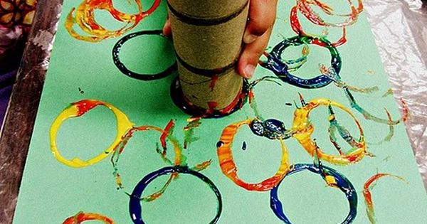 Teaching 2 and 3 Year Olds: A simple art activity using a