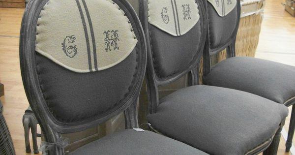 chaises m daillon esprit maison de famille mes relooking fauteuils anciens pinterest. Black Bedroom Furniture Sets. Home Design Ideas